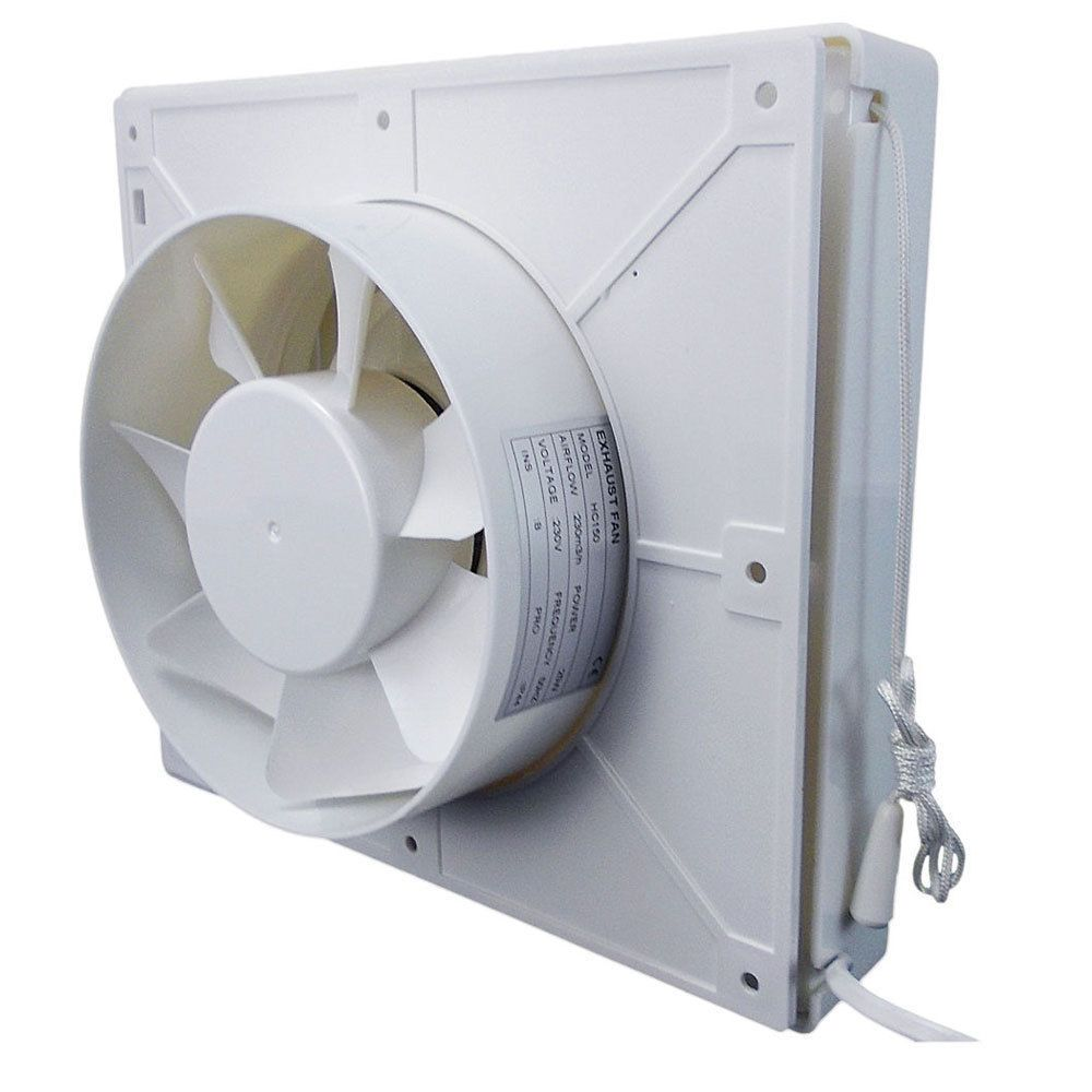 Kitchen External Wall Extractor Fan Mm Duct Uk